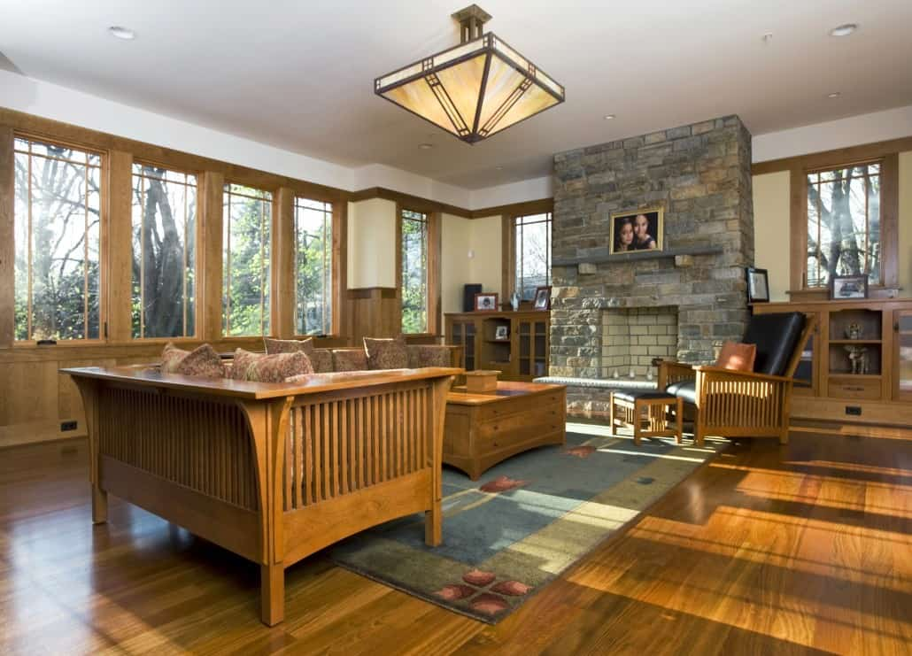 Chevy Chase Prairie Family Room