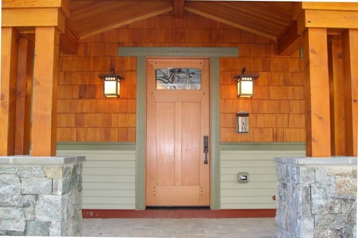Corner Craftsman Frontdoor