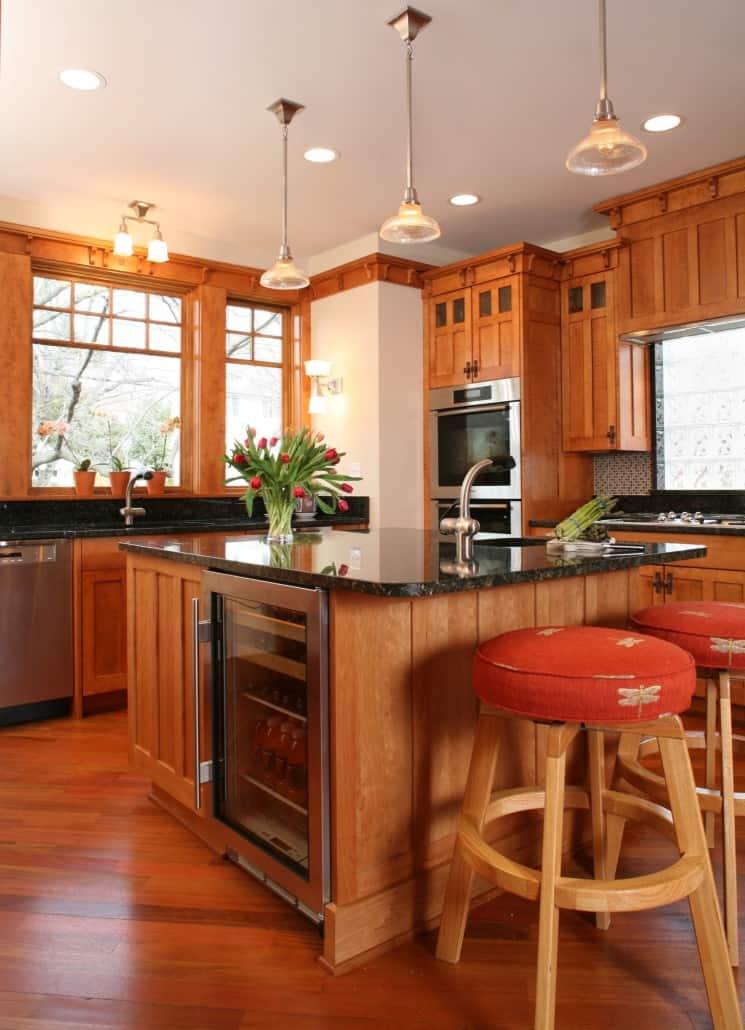 Corner Craftsman Kitchen