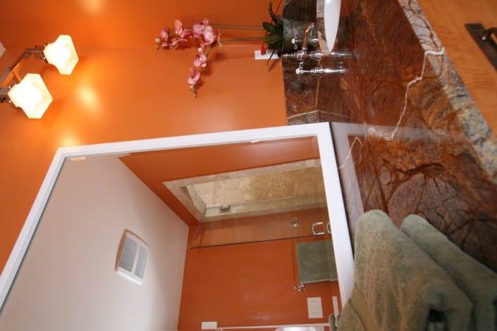 Corner Craftsman Master Bath