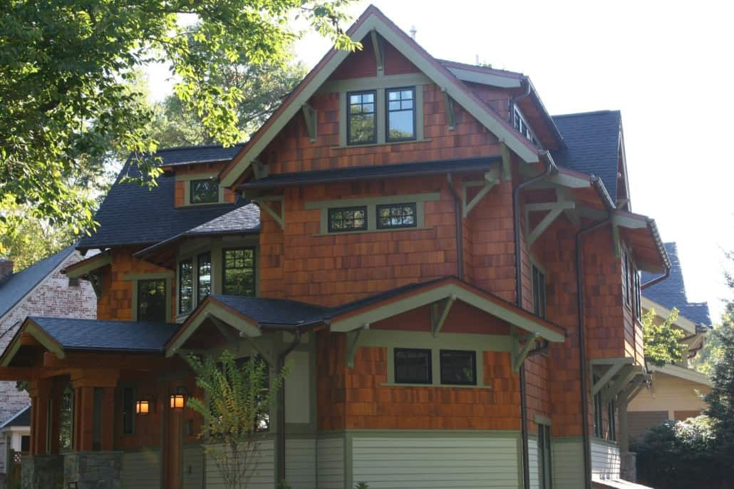 Corner Craftsman Side View