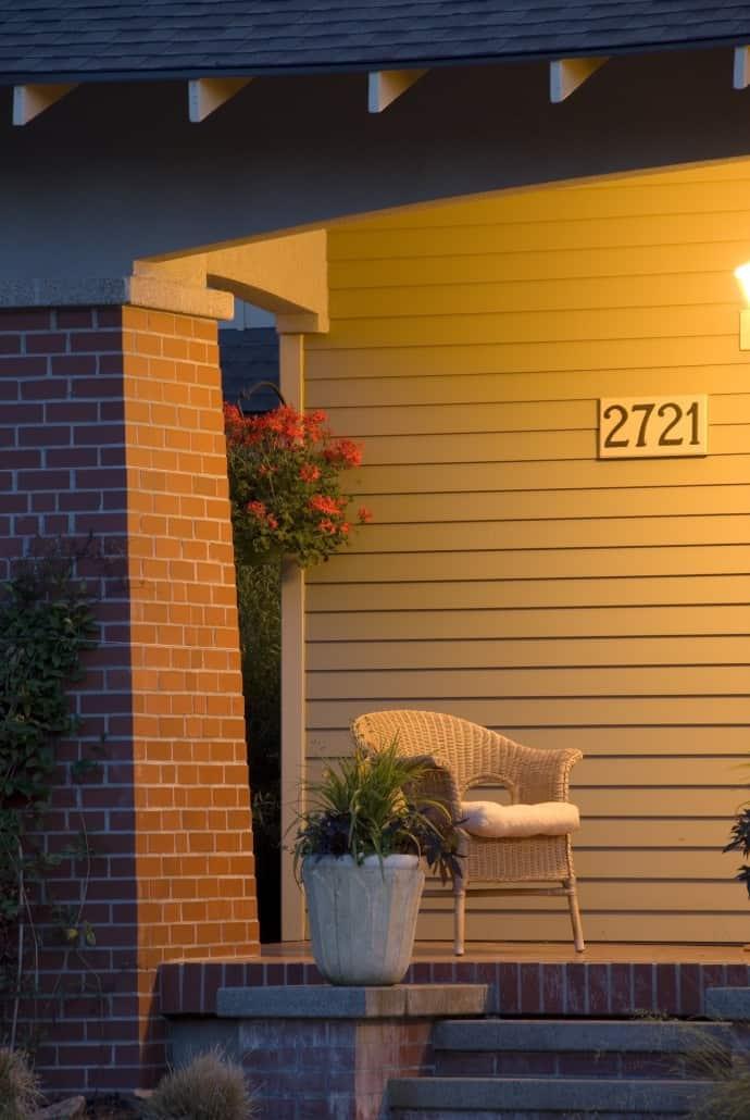 Gladu Craftsman Front Porch
