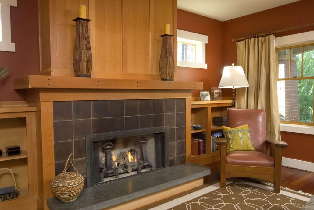 Gladu Craftsman Living Room