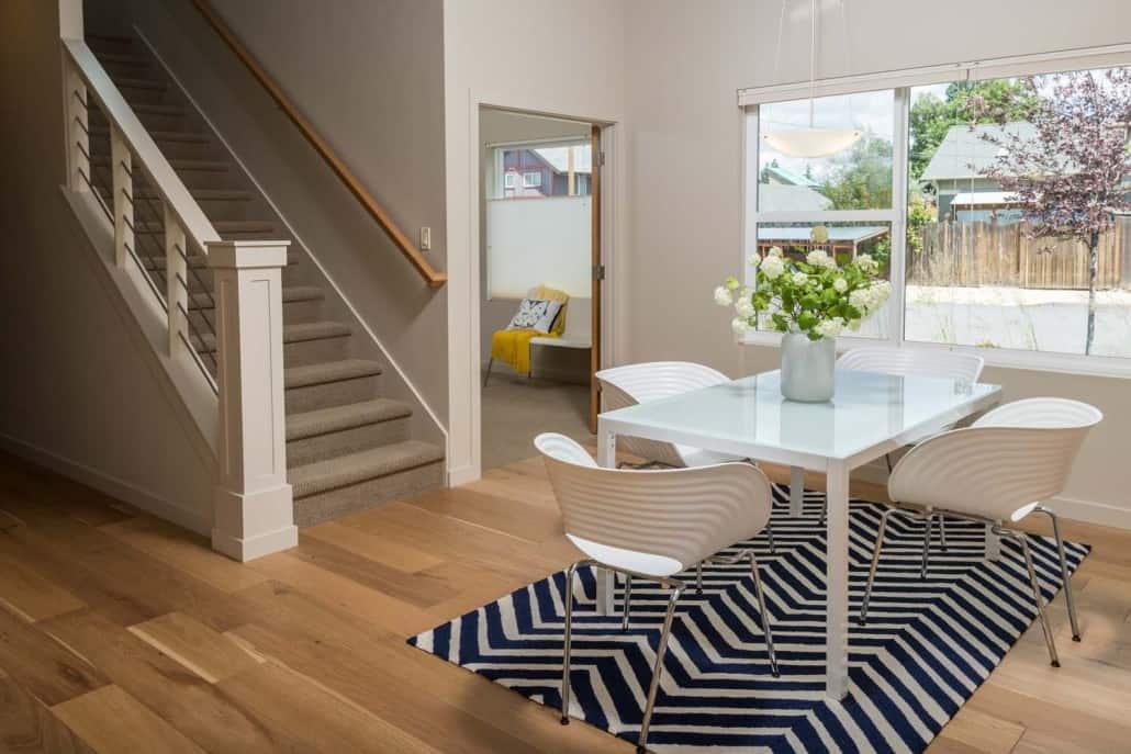 Modern Infill Dining & Stair