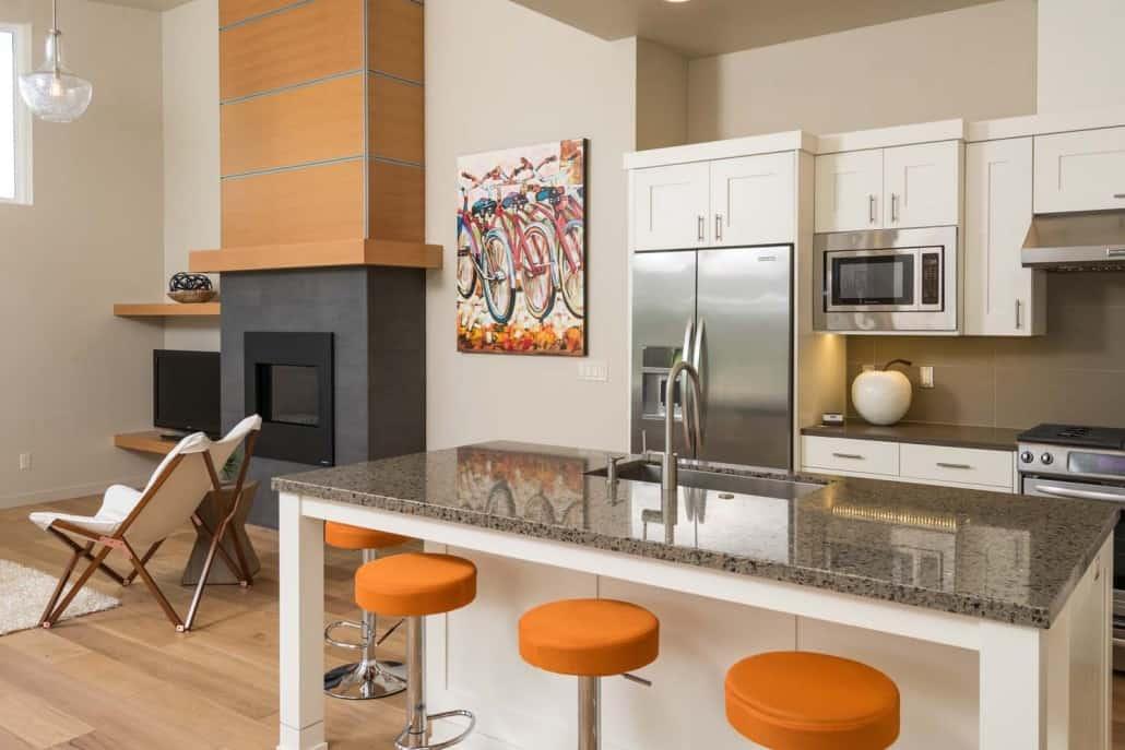 Modern Infill Kitchen & Living