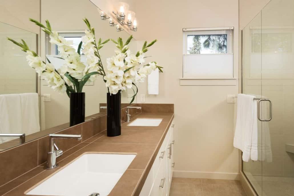 Modern Infill Master Bathroom