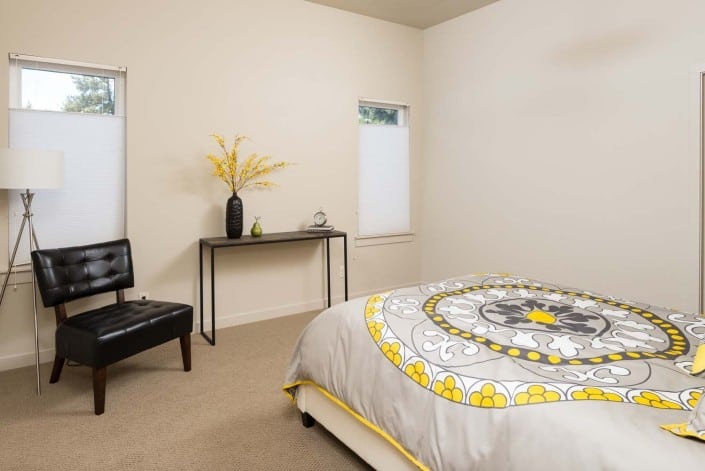 Modern Infill Master Bedroom