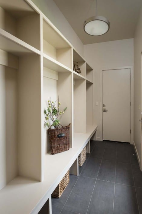 Modern Infill Mudroom