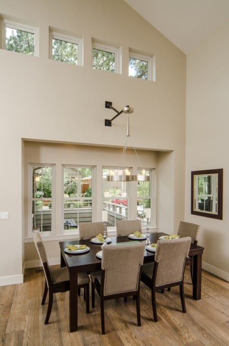 Transitional Infill Dining Room