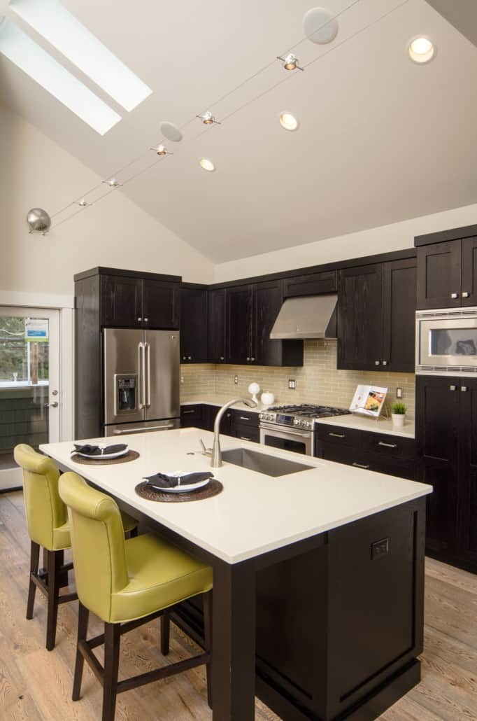 Transitional Infill Kitchen