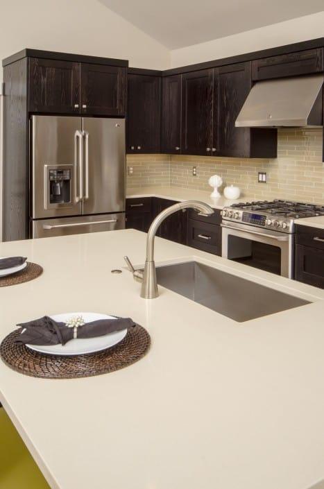Transitional Infill Kitchen Sink