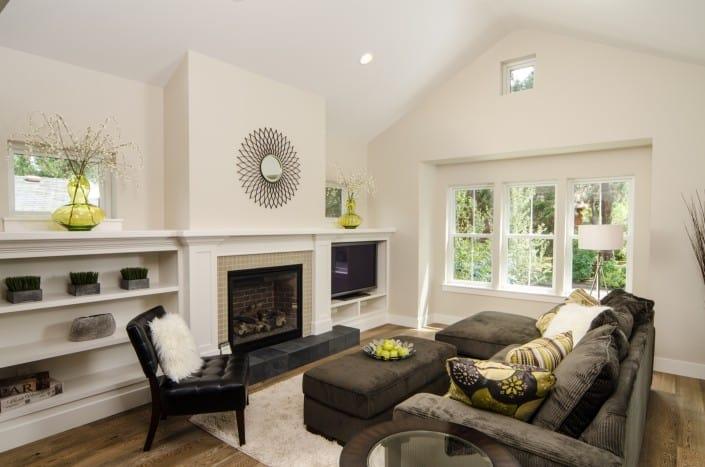 Transitional Infill Living Room