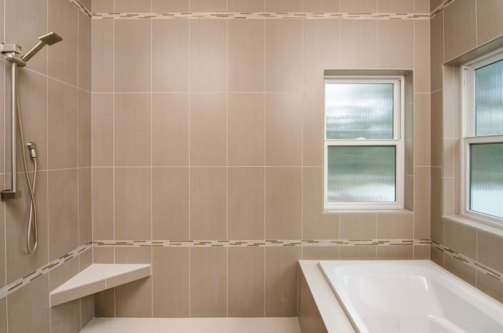 Transitional Infill Master Bath