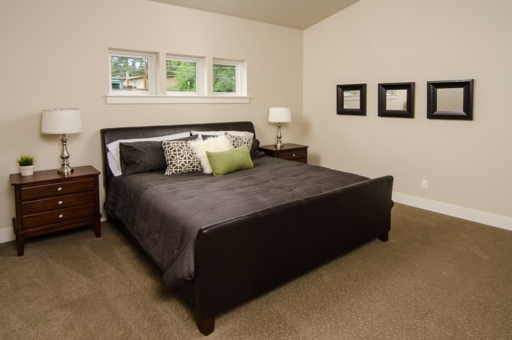 Transitional Infill Master Bedroom
