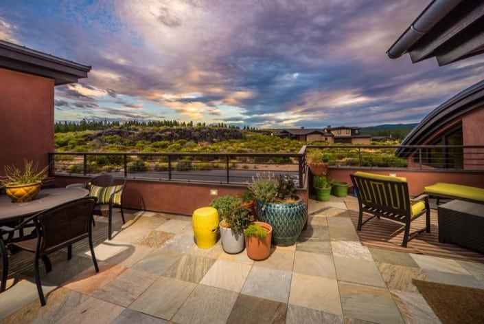 Shevlin Commons Deck View